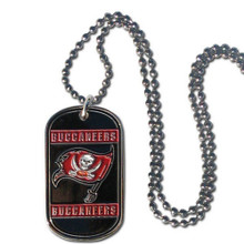 Tampa Bay Buccaneers Dog Tag Necklace NFL Football FTN030