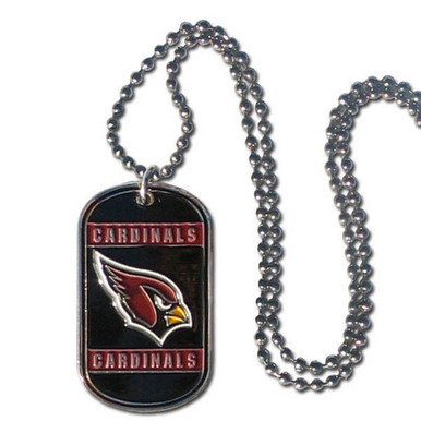 Arizona Cardinals Dog Tag Necklace NFL Football FTN035
