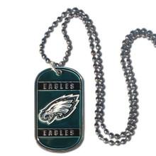 Philadelphia Eagles Dog Tag Necklace NFL Football FTN065