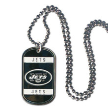 New York Jets Dog Tag Necklace NFL Football FTN100