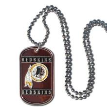 Washington Redskins Dog Tag Necklace NFL Football FTN135