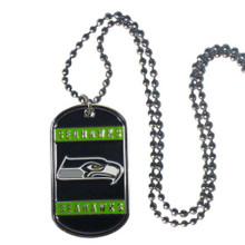 Seattle Seahawks Dog Tag Necklace NFL Football FTN155