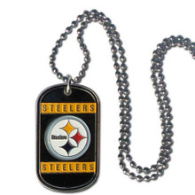 Pittsburgh Steelers Dog Tag Necklace NFL Football FTN160
