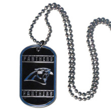 Carolina Panthers Dog Tag Necklace NFL Football FTN170