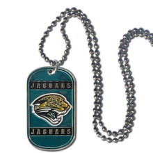 Jacksonville Jaguars Dog Tag Necklace NFL Football FTN175