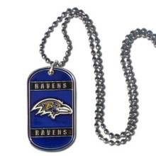 Baltimore Ravens Dog Tag Necklace NFL Football FTN180
