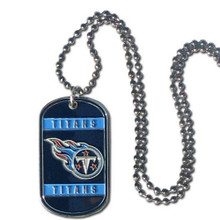 Tennessee Titans Dog Tag Necklace NFL Football FTN185