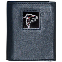 Atlanta Falcons Black Trifold Wallet NFL Football FTR070