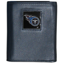 Tennessee Titans Black Trifold Wallet NFL Football FTR185