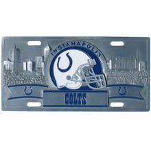 Indianapolis Colts 3D License Plate NFL Football FVP050
