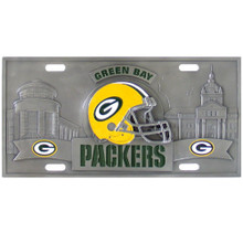 Green Bay Packers 3D License Plate NFL Football FVP115