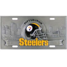 Pittsburgh Steelers 3D License Plate NFL Football FVP160