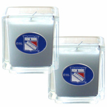 New York Rangers Vanilla Candle Set NHL Hockey H2CD105