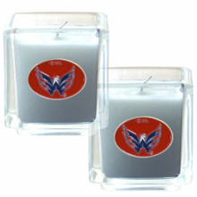 Washington Capitals Vanilla Candle Set NHL Hockey H2CD150