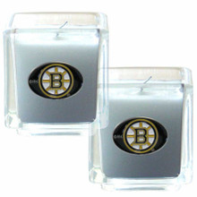 Boston Bruins Vanilla Candle Set NHL Hockey H2CD20