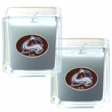 Colorado Avalanche Vanilla Candle Set NHL Hockey H2CD5