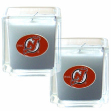 New Jersey Devils Vanilla Candle Set NHL Hockey H2CD50
