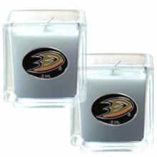Anaheim Ducks Vanilla Candle Set NHL Hockey H2CD55