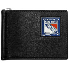 New York Rangers Bill Clip Wallet NHL Hockey HBCW105