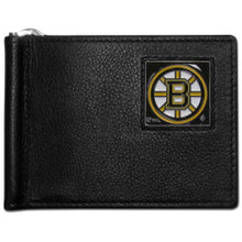 Boston Bruins Bill Clip Wallet NHL Hockey HBCW20