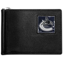 Vancouver Canucks Bill Clip Wallet NHL Hockey HBCW35