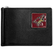 Phoenix Coyotes Bill Clip Wallet NHL Hockey HBCW45
