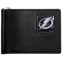 Tampa Bay Lightning Bill Clip Wallet NHL Hockey HBCW80