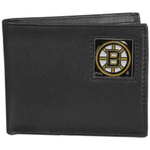 Boston Bruins Black Bifold Wallet NHL Hockey HBI20