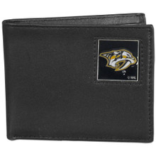 Nashville Predators Black Bifold Wallet NHL Hockey HBI40