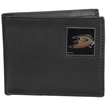 Anaheim Ducks Black Bifold Wallet NHL Hockey HBI55