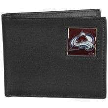 Colorado Avalanche Black Bifold Wallet NHL Hockey HBI5
