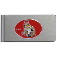 Ottawa Senators Brushed Money Clip NHL Hockey HBMC120