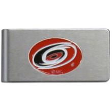 Carolina Hurricanes Brushed Money Clip NHL Hockey HBMC135