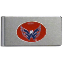 Washington Capitals Brushed Money Clip NHL Hockey HBMC150