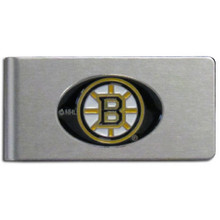 Boston Bruins Brushed Money Clip NHL Hockey HBMC20