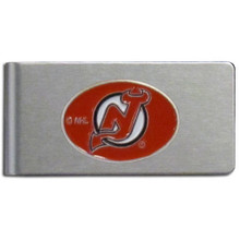 New Jersey Devils Brushed Money Clip NHL Hockey HBMC50