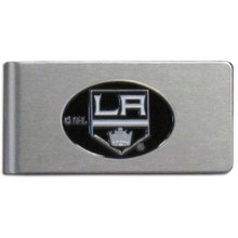 Los Angeles Kings Brushed Money Clip NHL Hockey HBMC75