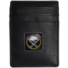 Buffalo Sabres Leather Money Clip Card Holder Wallet NHL Hockey HCH25