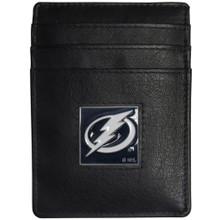 Tampa Bay Lightning Leather Money Clip Card Holder Wallet NHL Hockey HCH80