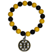 Boston Bruins Fan Bead Bracelet NHL Hockey HFBB20