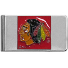Chicago Blackhawks Logo Money Clip NHL Hockey HMCL10