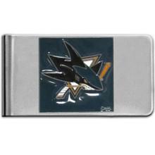 San Jose Sharks Logo Money Clip NHL Hockey HMCL115