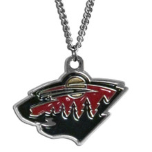 Minnesota Wild Logo Chain Necklace NHL Hockey HN145N