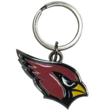 Arizona Cardinals Chrome Key Logo Chain NFL Football SFCK035
