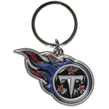 Tennessee Titans Chrome Key Logo Chain NFL Football SFCK185