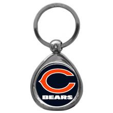 Chicago Bears Domed Key Chain NFL Football SFK005C