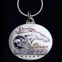 Denver Broncos Design Key Chain NFL Football SFK021