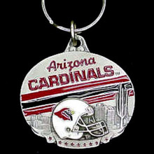 Arizona Cardinals Design Key Chain NFL Football SFK036