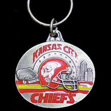 Kansas City Chiefs Design Key Chain NFL Football SFK046