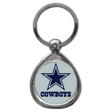 Dallas Cowboys Domed Key Chain NFL Football SFK055C